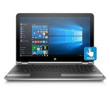 HP Pavilion X360 15-bk010nr Intel Core I5 6200U 2.3GHz (8GB RAM, 1TB HDD) 15.6-Inch Windows 10 Laptop – Silver